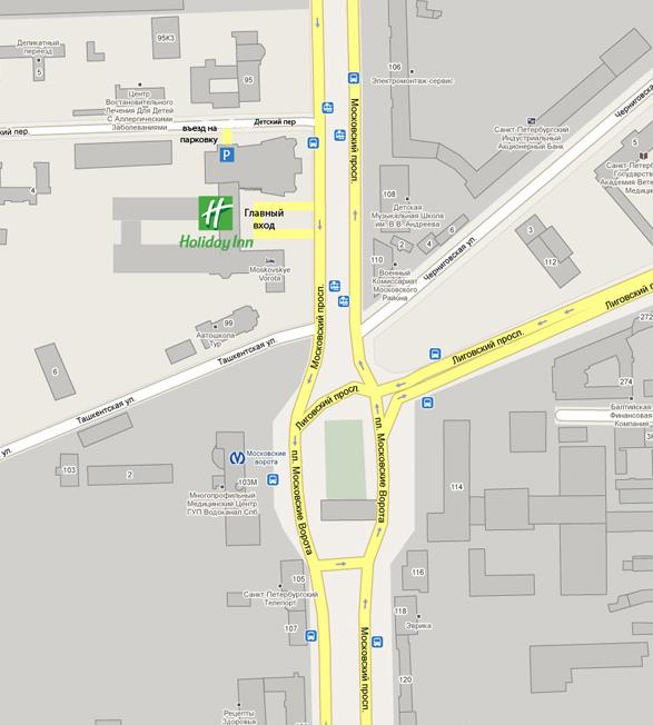 Карта проезда.